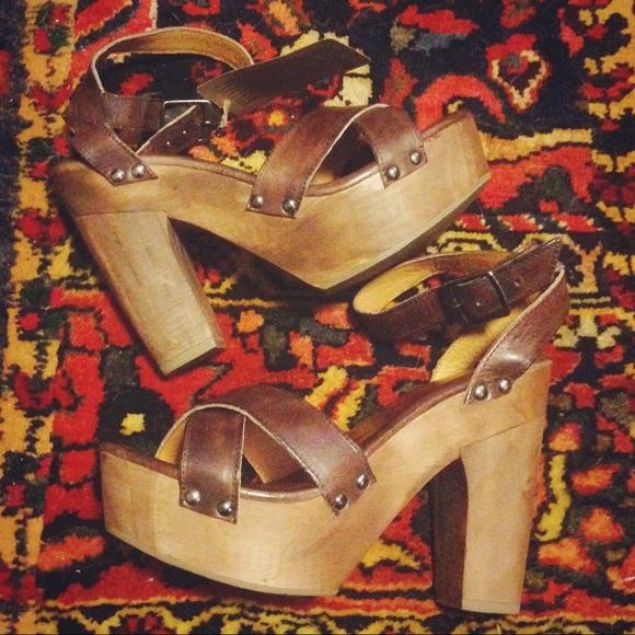 8454d4a6da Bed Stu Shoes | Madeline Platform Sandal In Teak Rustic | Poshmark
